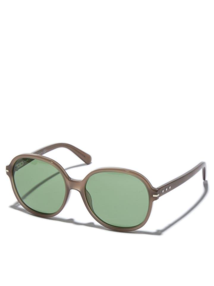 marc jacobs damen sonnenbrille in hellbraun gr n. Black Bedroom Furniture Sets. Home Design Ideas