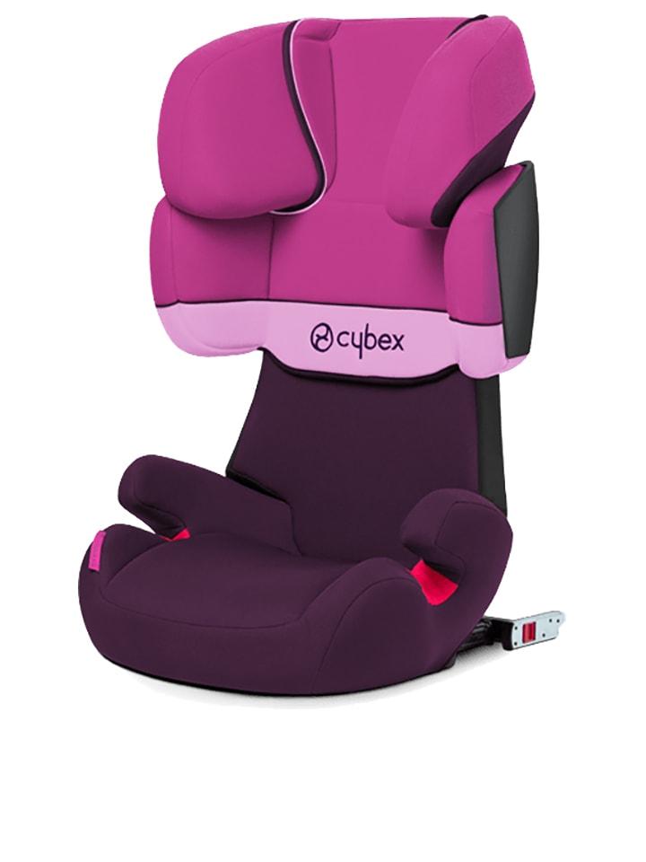 """Cybex Kindersitz  """"Solution X-fix"""" in Pink/ Aubergine - Gruppe 2/3"""