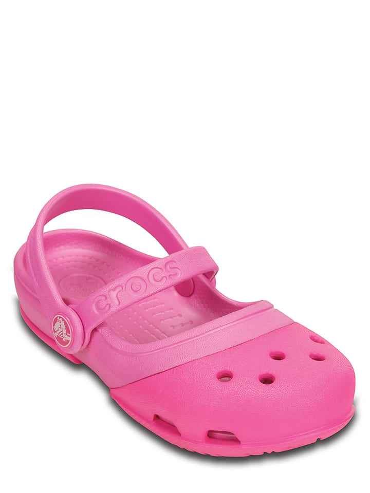 "Crocs Clogs ""Electro 2"" in Pink"