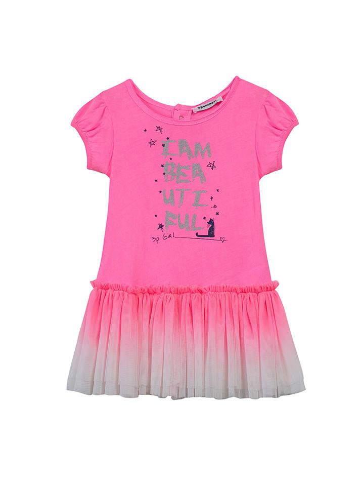 3 pommes Kleid in Pink