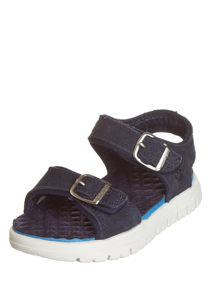 Timberland Leren sandalen donkerblauw