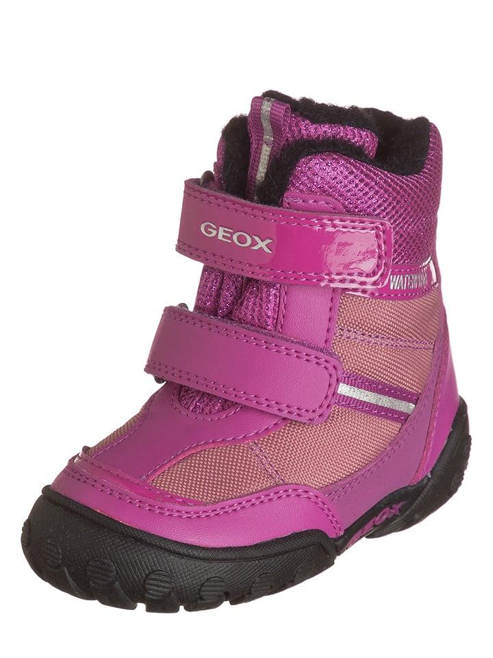 """Geox Winterlaarzen """"Gulp"""" roze"""