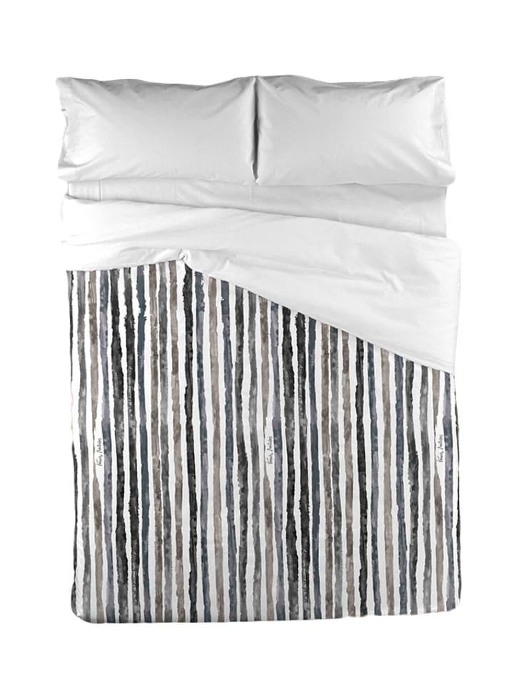 francis montesinos bettw sche set in wei grau schwarz limango outlet. Black Bedroom Furniture Sets. Home Design Ideas