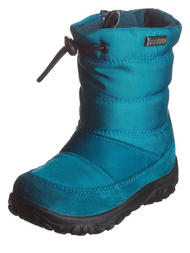 "Naturino Boots ""Poznurr"" in Türkis"