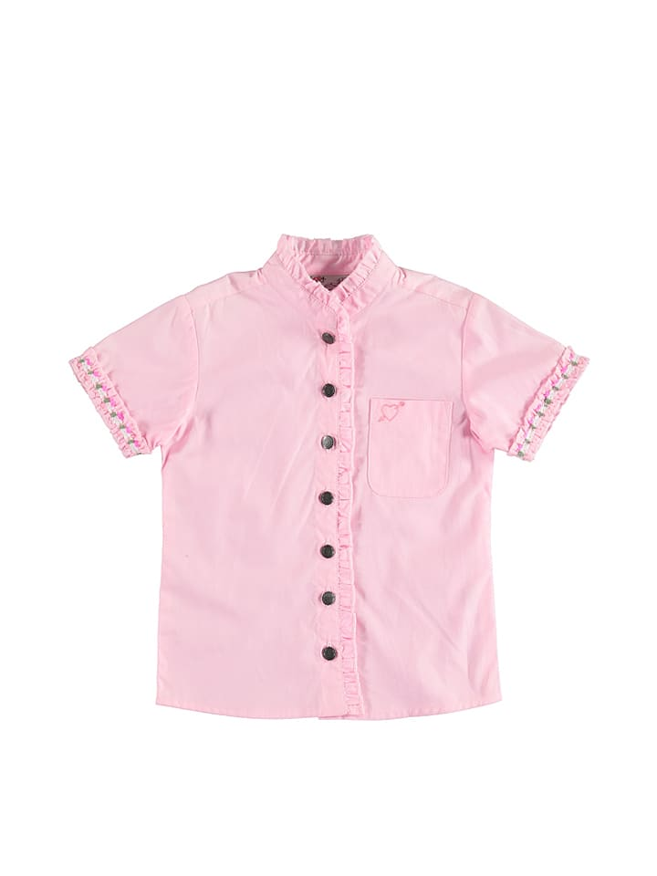 "LEKRA Bluse ""Leni"" in Rosa"