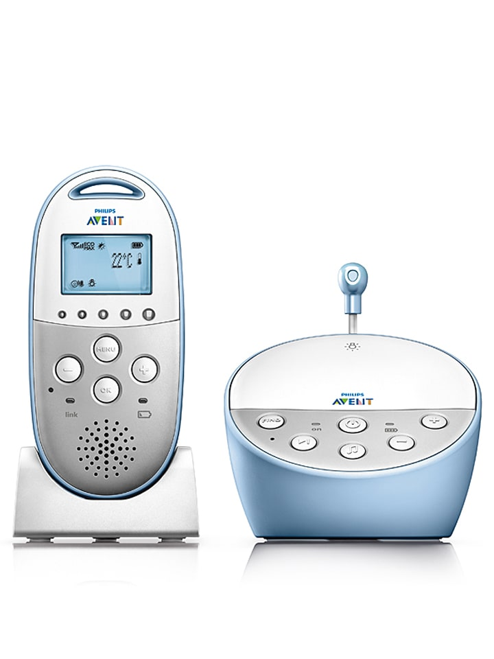 "Philips Avent Babyphone ""SCD570 Dect"" in Weiß"