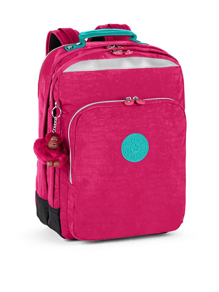 "Kipling Rucksack ""College"" in Pink/ Türkis - (B)30 x (H)42 x (T)19 cm"