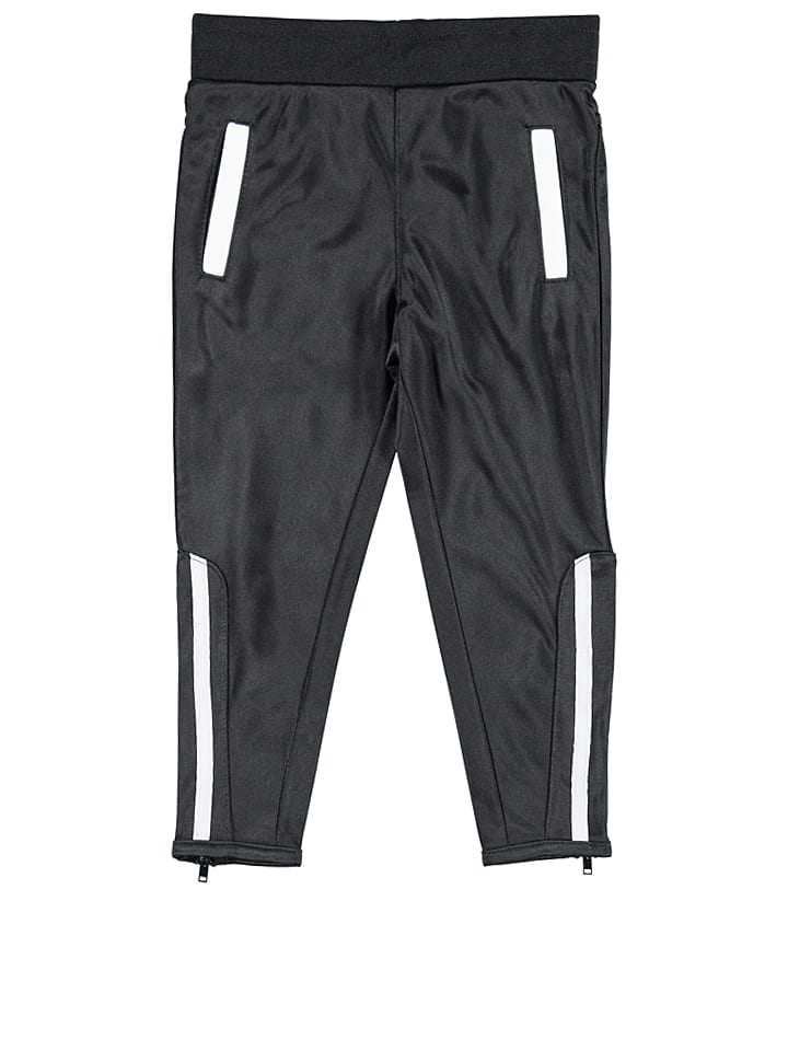 KIDS UP Spodnie w kolorze czarno-białym