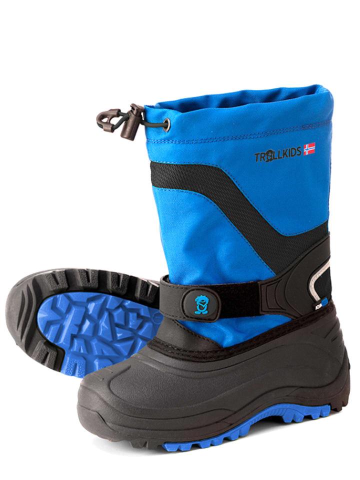 "Trollkids Boots ""Narvik Winter"" blauw/zwart"