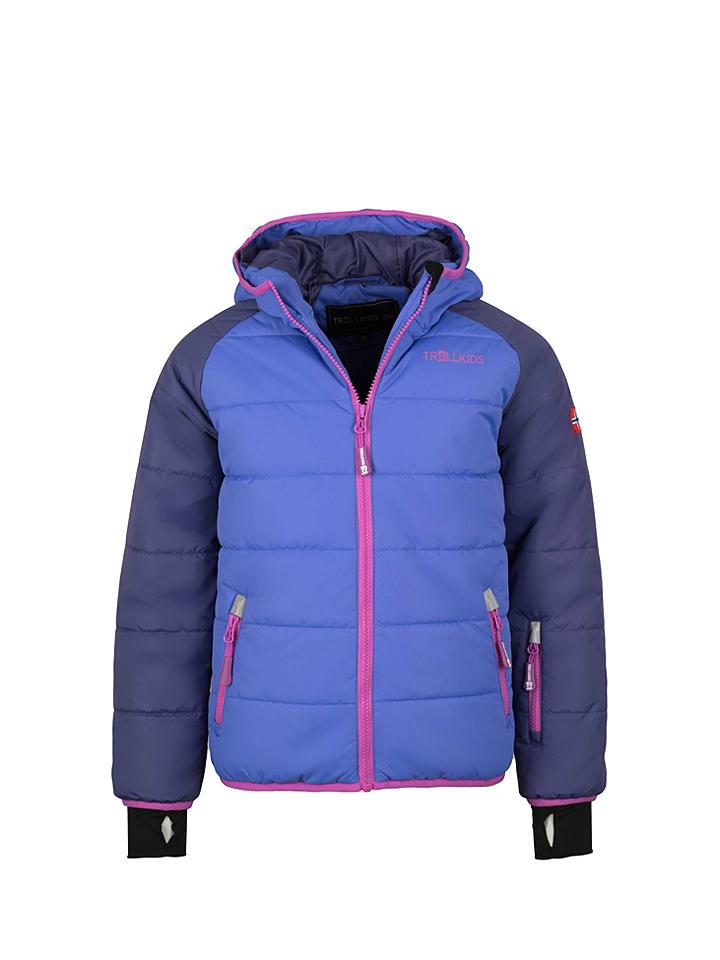 "Trollkids Ski-/snowboardjas ""Hafjell"" violet/paars"
