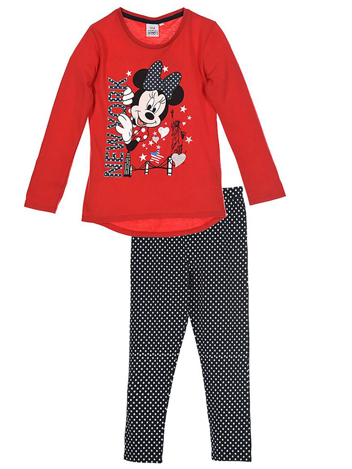 disney 2tlg outfit minnie in rot schwarz wei limango outlet. Black Bedroom Furniture Sets. Home Design Ideas