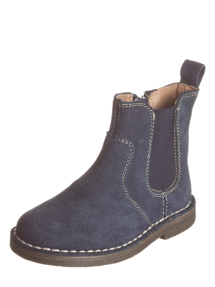 gr nland leder chelsea boots ivan in dunkelblau. Black Bedroom Furniture Sets. Home Design Ideas