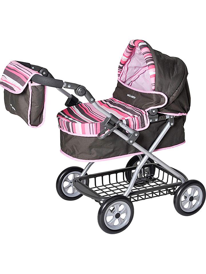 knorrtoys puppenwagen maclaren travelmate pram in rosa ab 3 jahren limango outlet. Black Bedroom Furniture Sets. Home Design Ideas