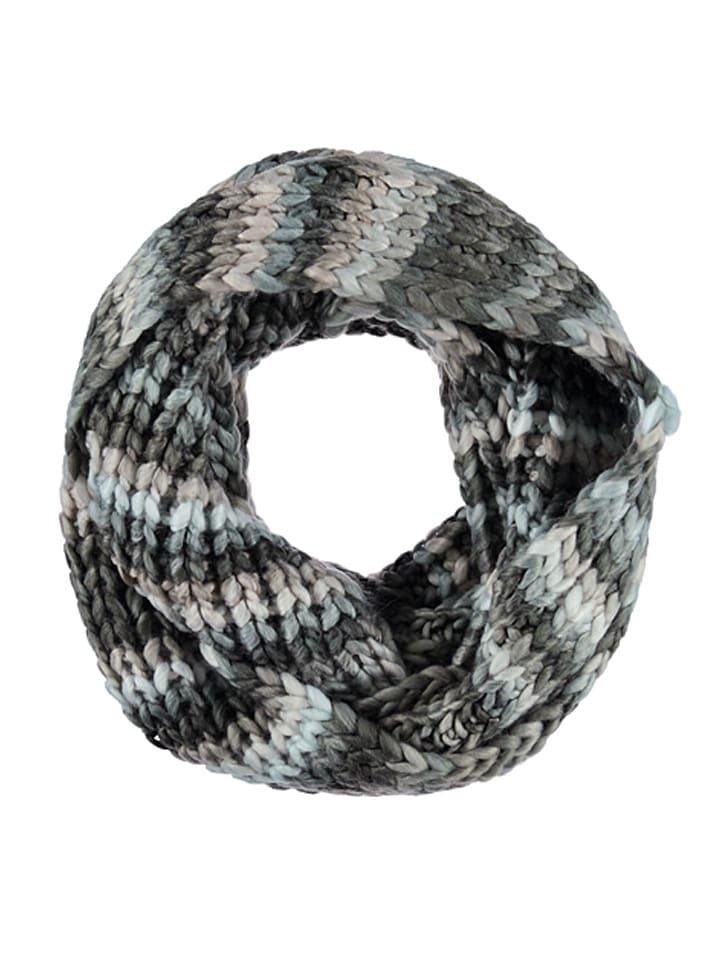 Mexx Sjaal grijs/lichtroze/lichtblauw - (B)130 x (H)21 cm