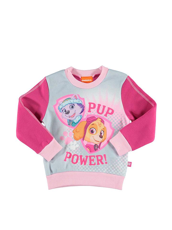 Paw Patrol Bluza Paw Patrol w kolorze jasnoszaro-różowym