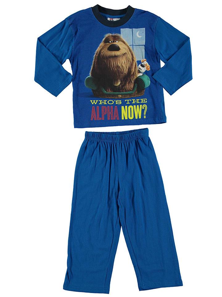 "The secret life of pets Pyjama ""The secret life of pets"" in Blau"