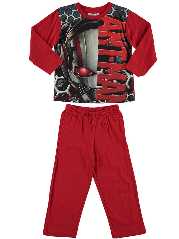 "Ant-Man Pyjama ""Ant Man"" in Rot/ Anthrazit"