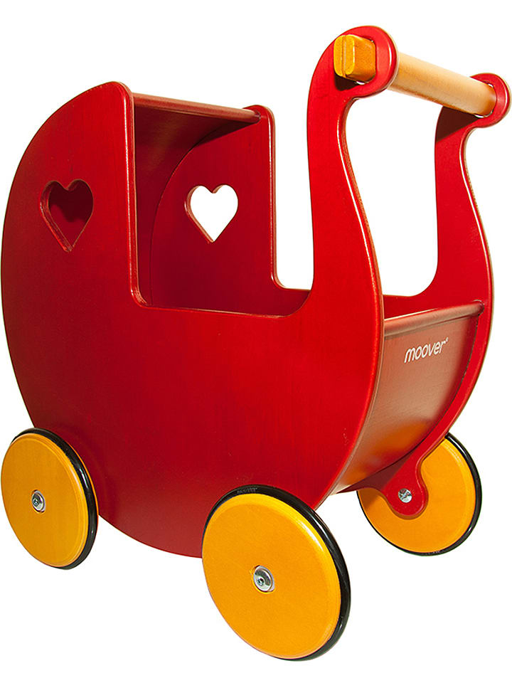 moover maxi puppenwagen in rot ab 2 jahren limango outlet. Black Bedroom Furniture Sets. Home Design Ideas