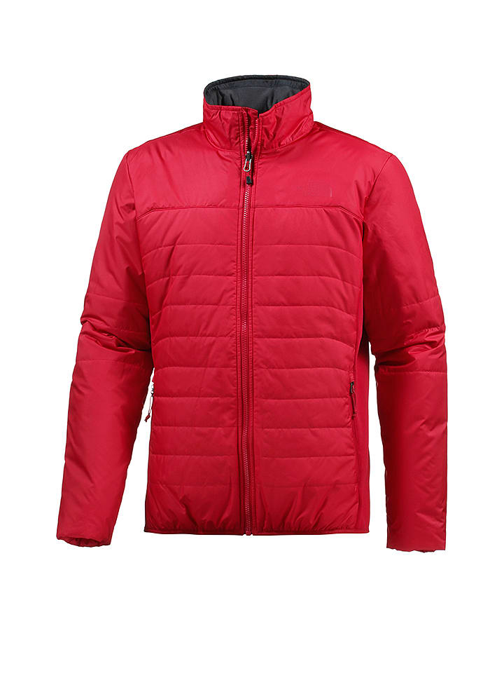 the north face winterjacke lengenfeld in rot limango outlet. Black Bedroom Furniture Sets. Home Design Ideas
