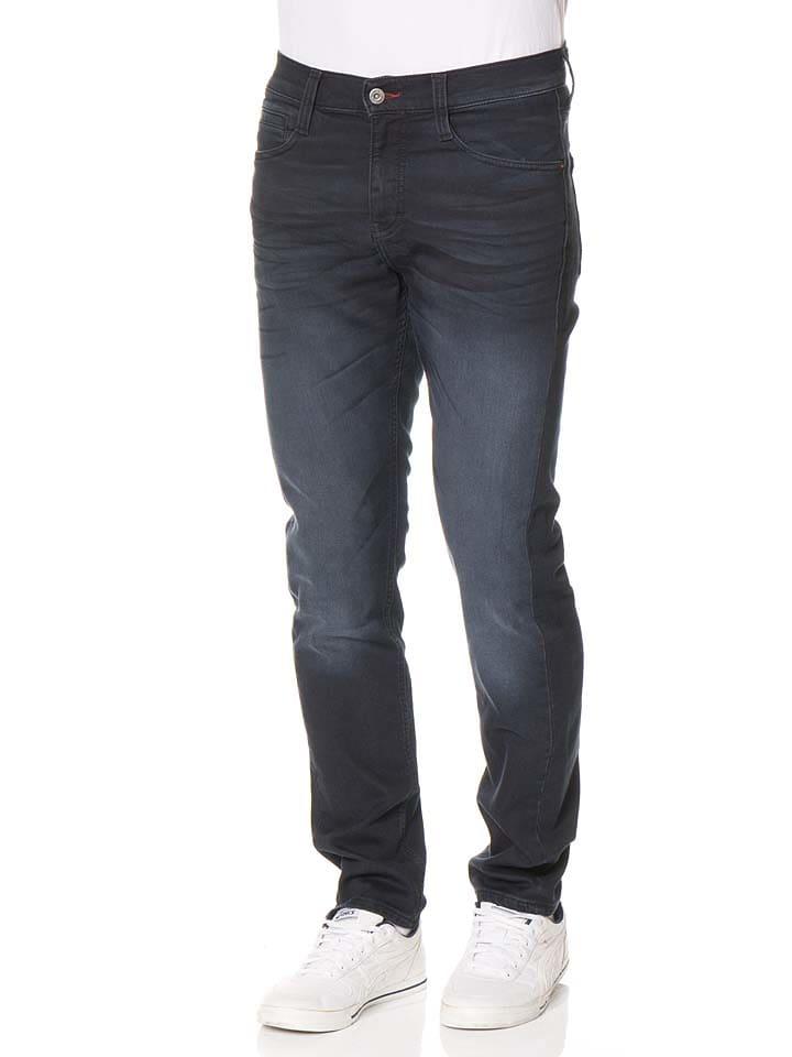 """Mustang Spijkerbroek """"Oregon"""" - slim fit - donkerblauw"""