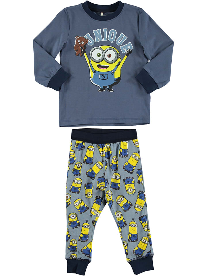 "Name it Pyjama ""Minions Benny""  in Blau/ Gelb"