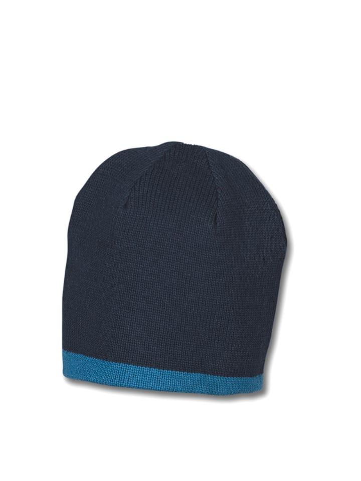 Sterntaler Mütze in Dunkelblau/ Blau