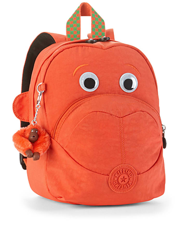"Kipling Rucksack ""Fast"" in Orange - (B)21,5 x (H)27 cm"