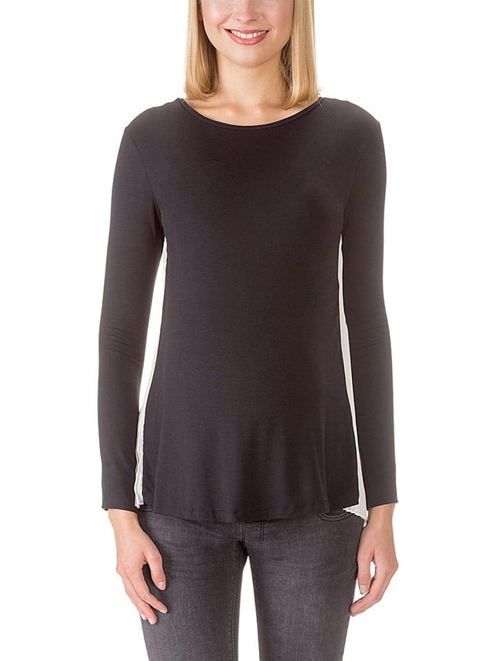 Bellybutton Koszulka w kolorze czarno-białym