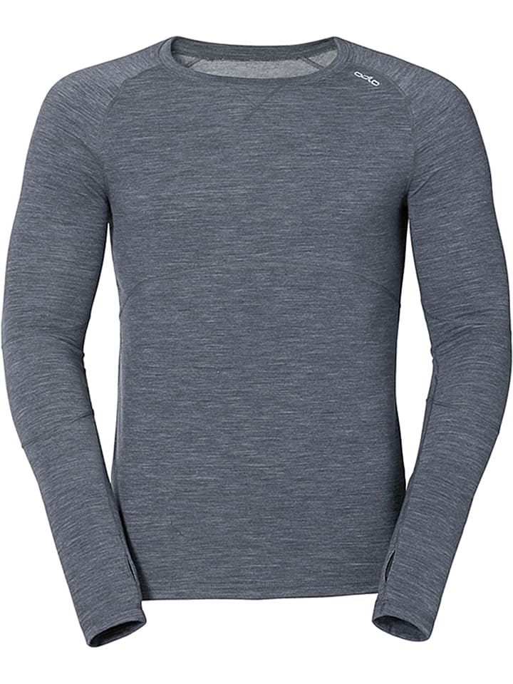 Odlo longsleeve revolution tw warm grijs limango outlet for Warm grijs