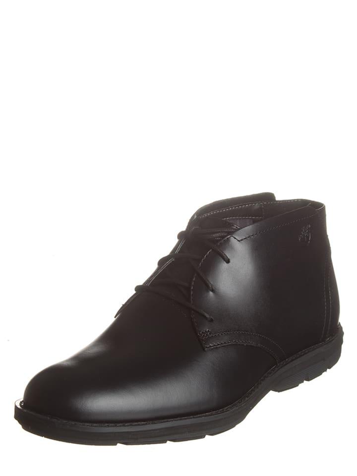 timberland chaussures à lacets noir