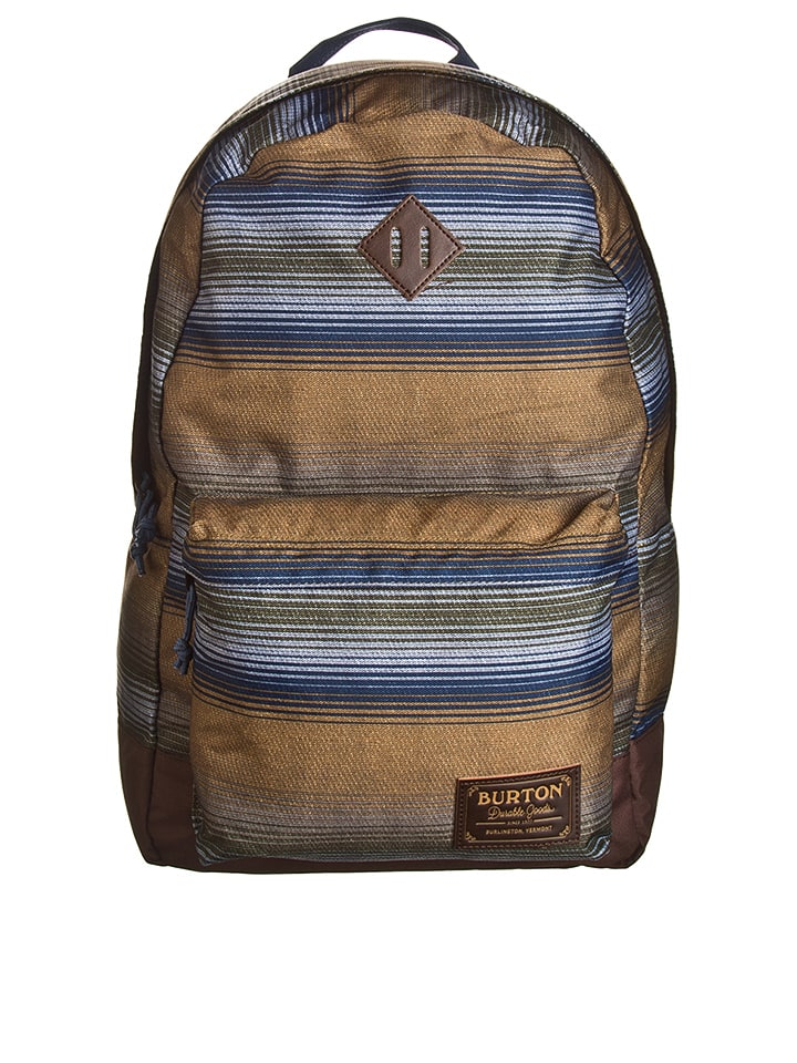 "Burton Rucksack ""Kettle Pack"" in Blau/ Braun - (B)30 x (H)45 x (T)15 cm"