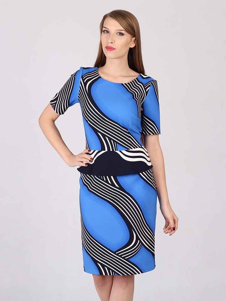 Jurk zwart/wit - bpc selection nu in de onlineshop van bonjournal.tk vanaf € bestellen. Comfortabele jurk met strikceintuur. Lengte van ca. 98 cm (mt.