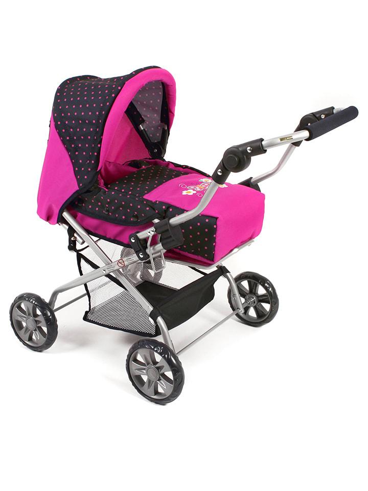 bayer chic kombi puppenwagen piccolina in pink ab 3 jahren limango outlet. Black Bedroom Furniture Sets. Home Design Ideas