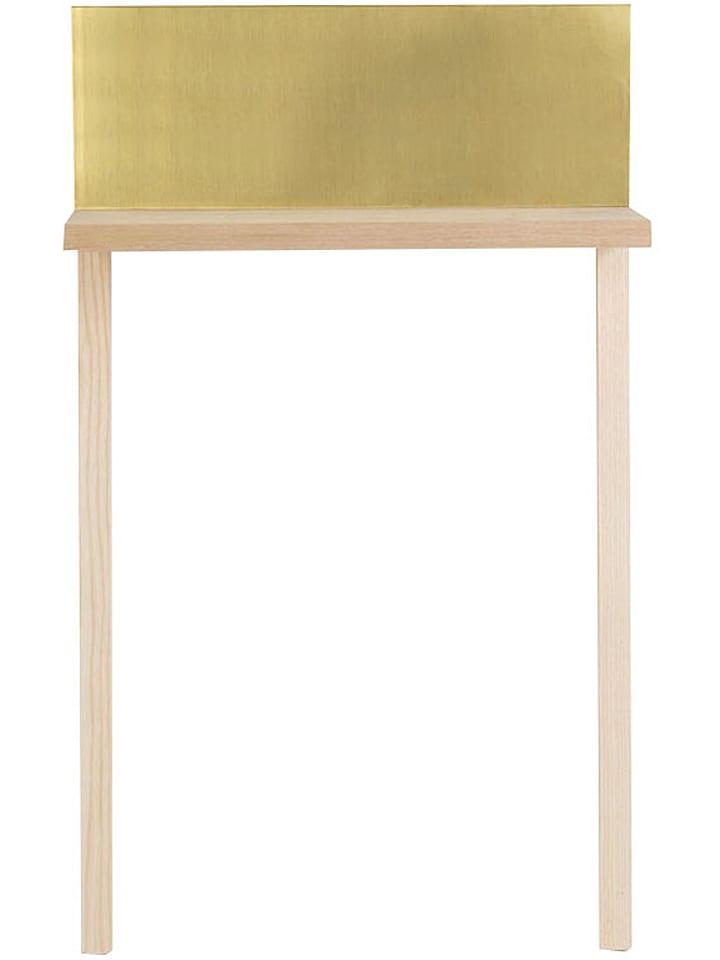 Surdic beistelltisch golden in pinie gold b 50 x for Beistelltisch 20 cm