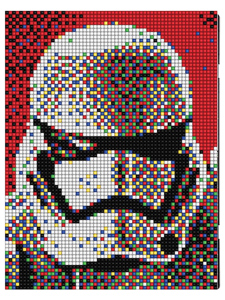 pixel art a partir d'une photo