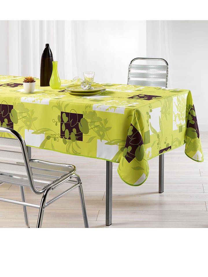 Douceur d int rieur tafelkleed nenuphar groen for Douceur interieur