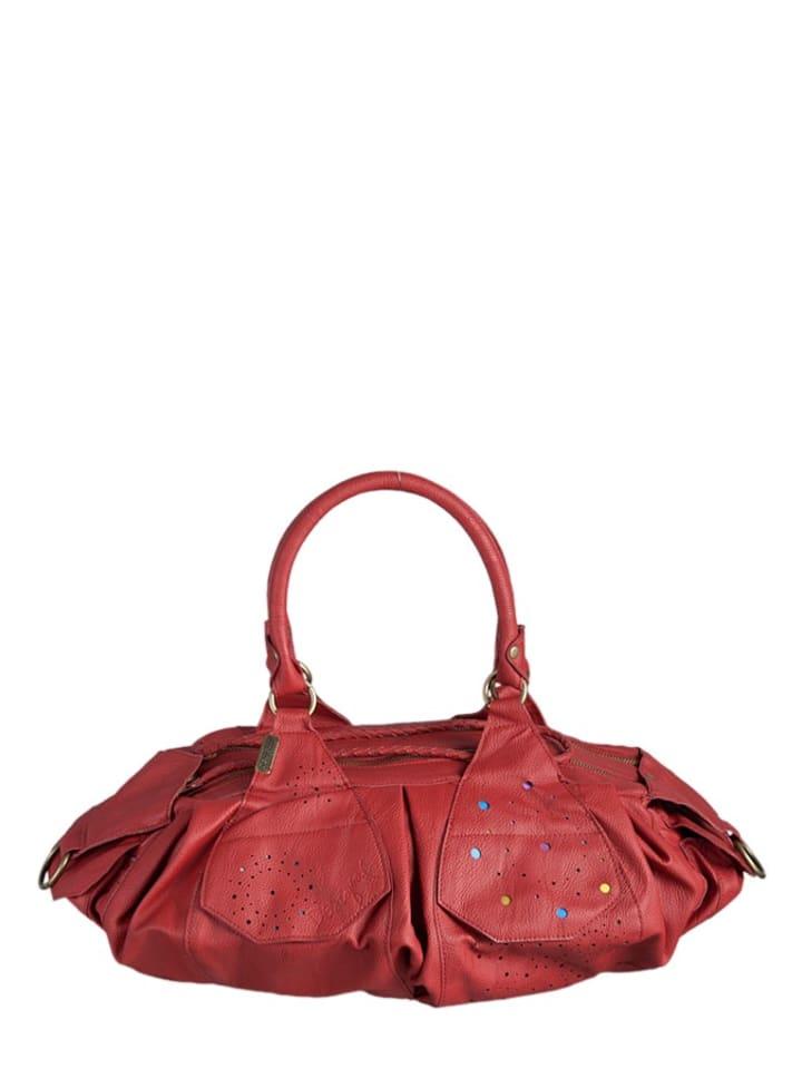 Desigual Henkeltasche London Parisine in Rot  - (B)49 x (H)28 x (T)21 cm
