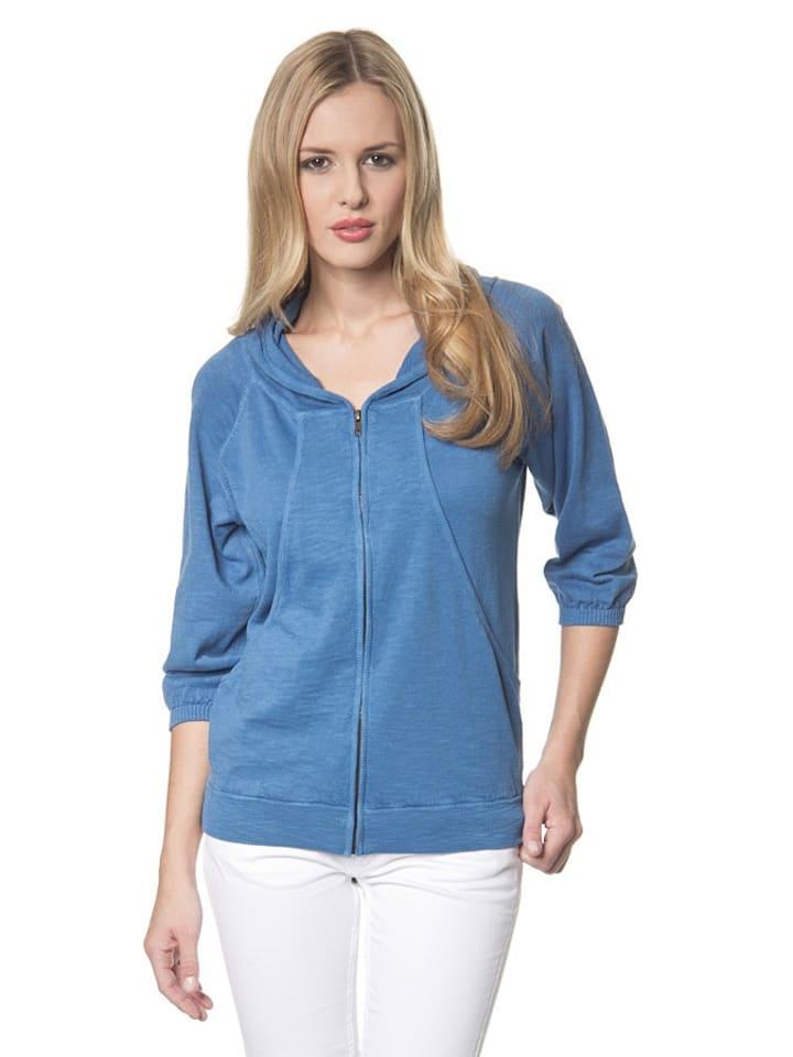Herrlicher Vest ''Pana'' blauw