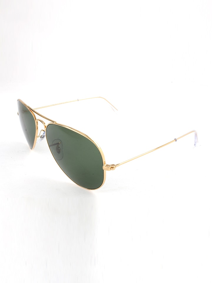 Ray Ban Unisex-Sonnenbrille Aviator in Gold - 28% 2Cv3Yz
