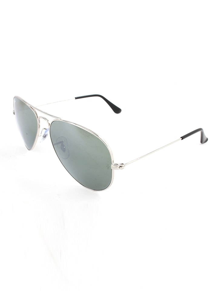 Ray Ban Unisex-Sonnenbrille Aviator in Silber - 43% XhEmhs1