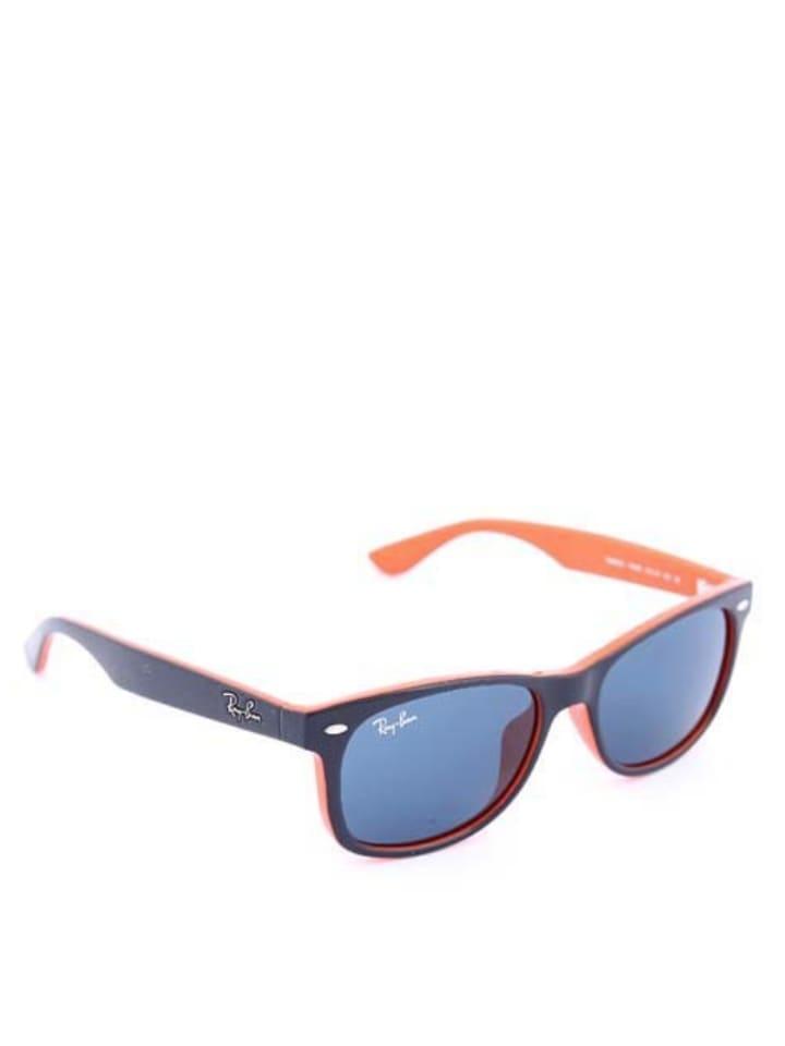 ray ban sonnenbrille blau orange