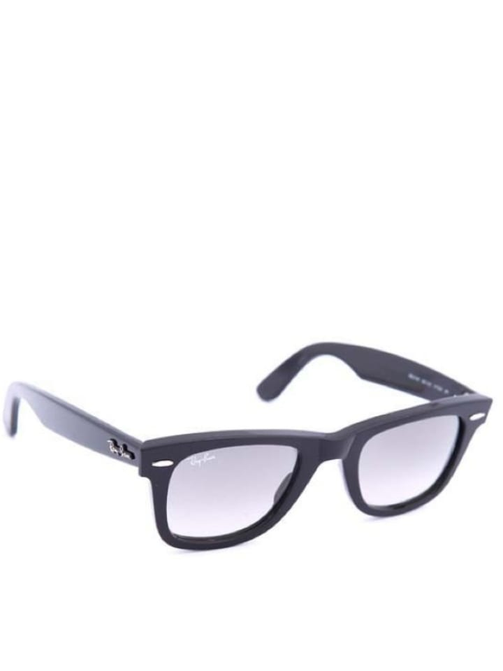 Ray Ban Unisex-Sonnenbrille Wayfarer in Schwarz - 44% Qmzg0SCUo