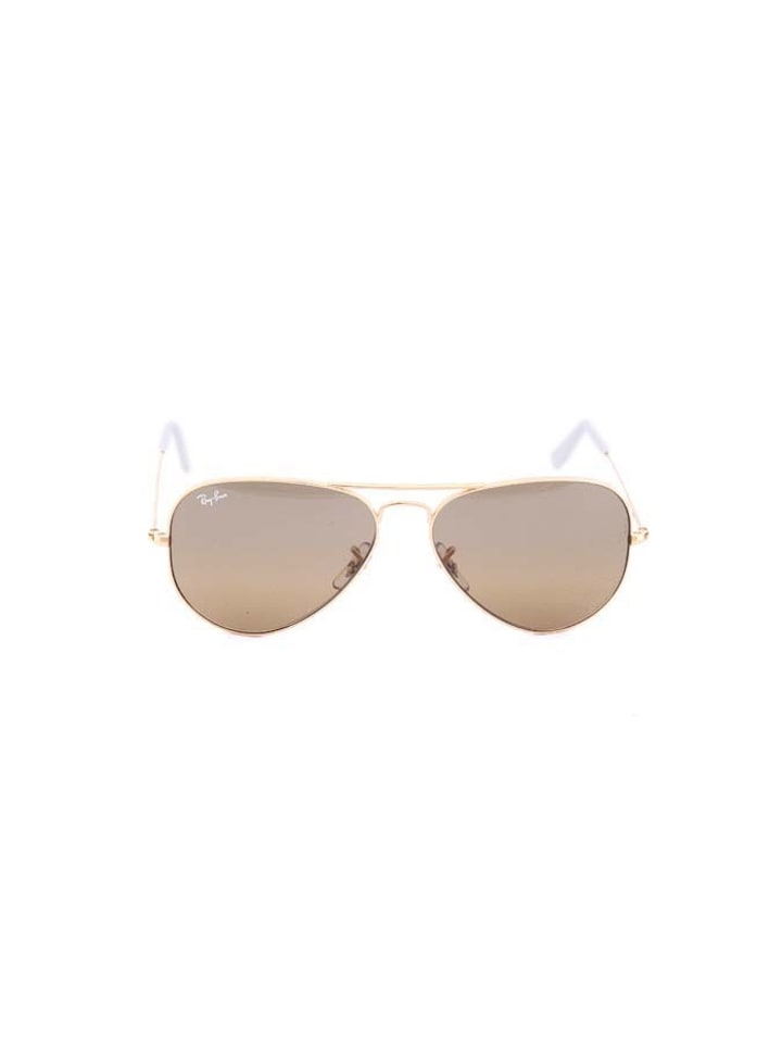 Ray Ban Unisex-Sonnenbrille Aviator in Silber - 43% ZJdtvM