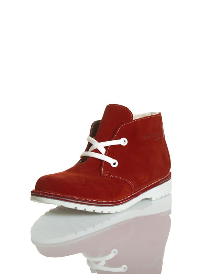 Ricosta Schnürschuhe in Rot