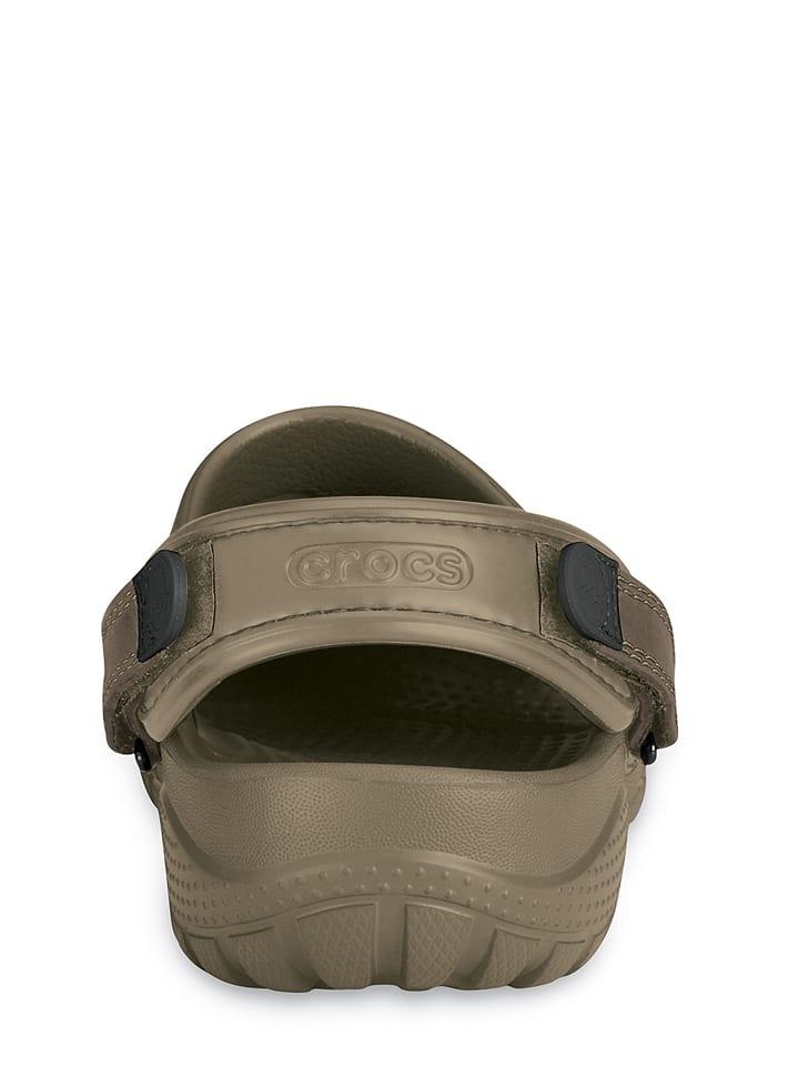 "Crocs Clogs ""Yukon"" in Khaki"