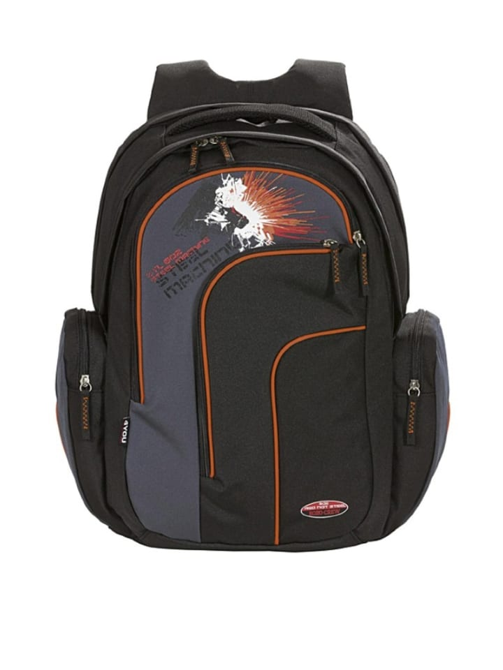 "4YOU Rucksack ""Move"" in Schwarz - (B)35 x (H)46 x (T)17 cm"