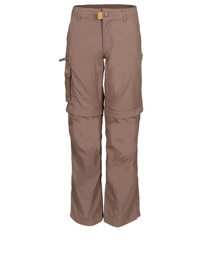 Trollkids Spodnie trekkingowe ''Oppland'' w kolorze brązowym