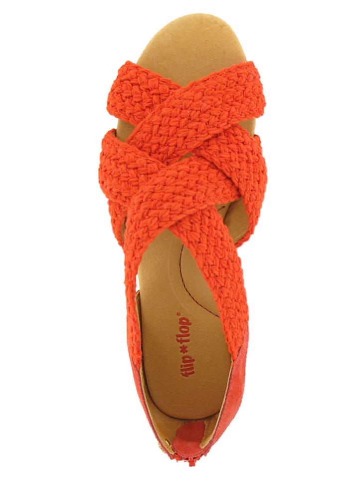 """Flip Flop Sandalen """"Amazona"""" in Koralle"""