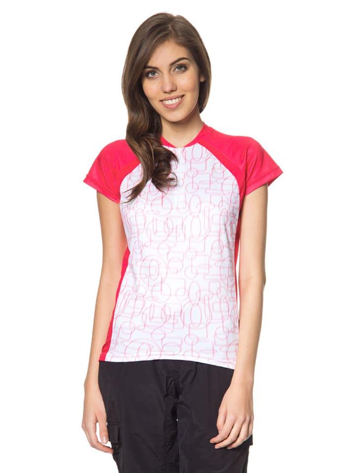 "Alpine Pro Shirt ""Disa"" wit/roze"