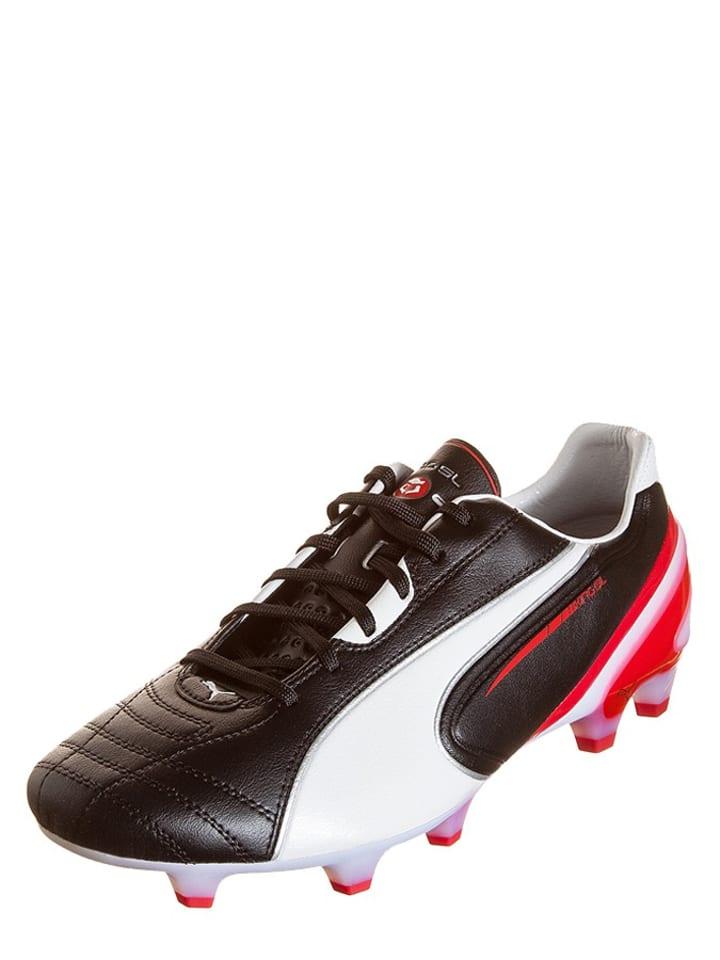 """Puma Voetbalschoenen """"King SL FG"""" zwart/wit"""